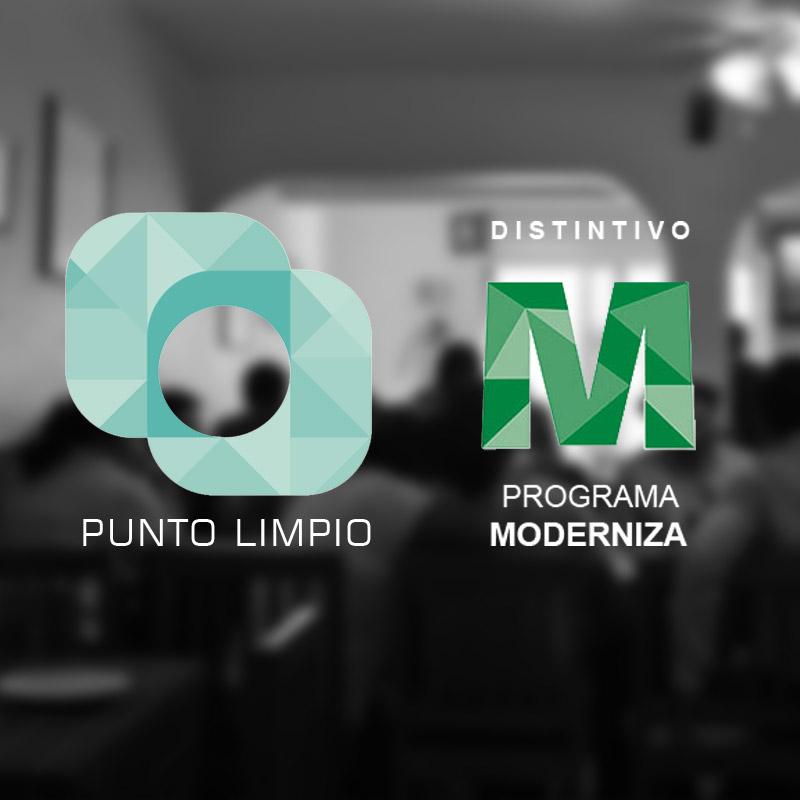 Certificaciones Punto Limpio y Moderniza Tehuacan
